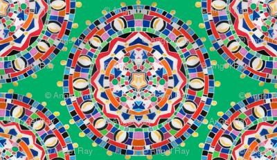 Massai Mosaic Medallion