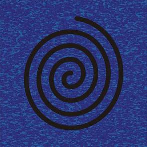 Spiral on Goddess background XL