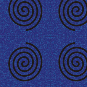 Spiral on Goddess background