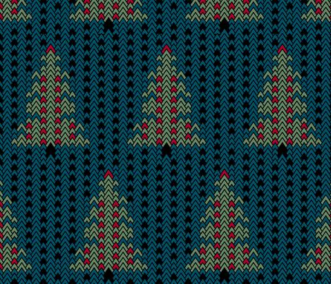 Christmas Sweater fabric by pond_ripple on Spoonflower - custom fabric