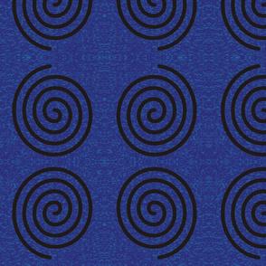Spiral on Goddess background large