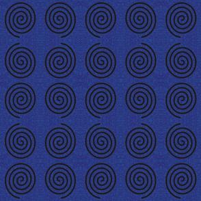 Spiral on Goddess background medium