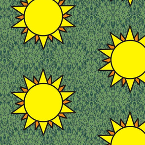 Horned God Sun repeat large