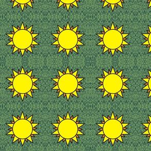 Horned God Sun repeat medium