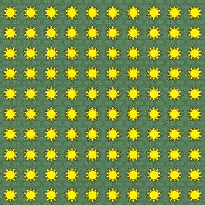 Horned God Sun repeat tiny