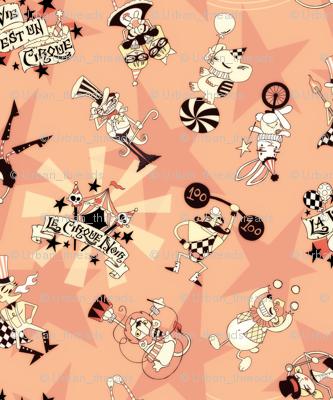 Cirque Noir - Vintage Pink