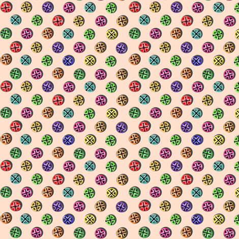Jingle Polka fabric by eclectic_house on Spoonflower - custom fabric