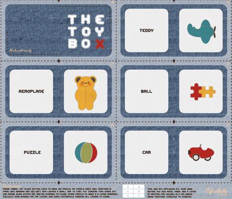 ToyBox by Craftbelle fabric by craftbelle on Spoonflower - custom fabric