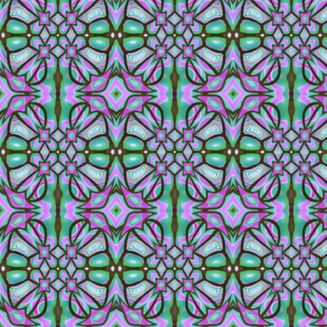 stylisedflower fabric by rubyhraefen on Spoonflower - custom fabric