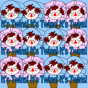 It's Twins! Terra Head Group Fabric