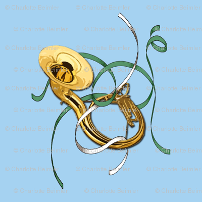 Sousaphone & Ribbons for 8x8