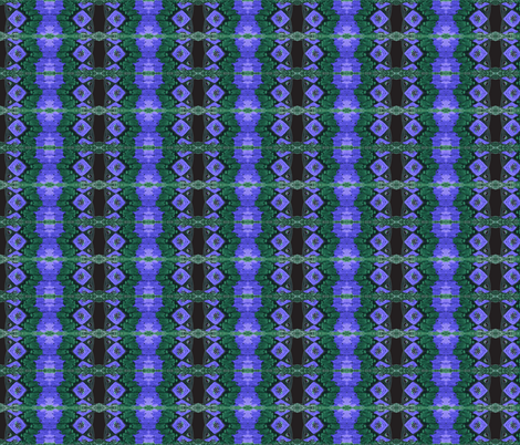 Peacock Tribal fabric by midnight_tribe on Spoonflower - custom fabric