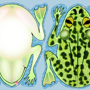 Frog Pillows Fat Quarters