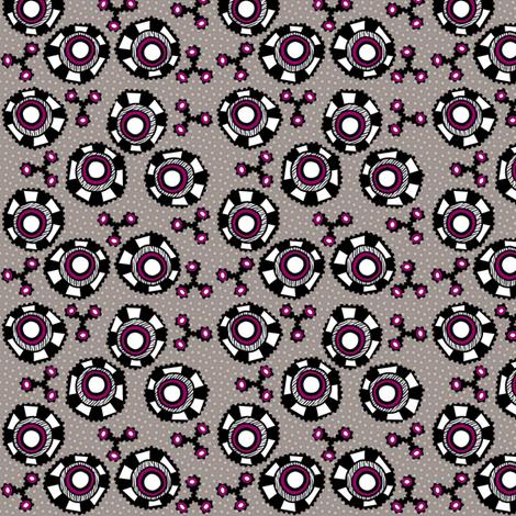 whacky eyes fabric by glimmericks on Spoonflower - custom fabric