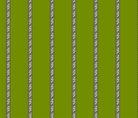 spottedstripe green fabric by glimmericks on Spoonflower - custom fabric