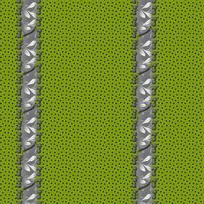 spottedstripe green