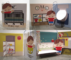 """Repeat"": Interactive Cloth Baby Book"