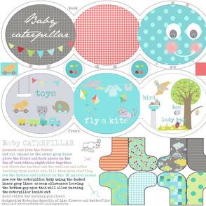 caterpillar baby book