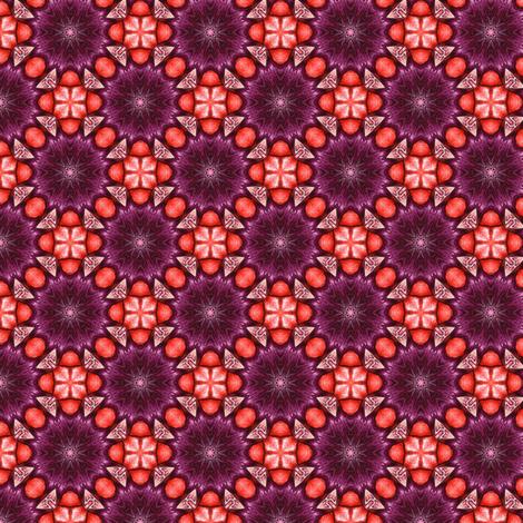 Secheli's Cosmic Fence fabric by siya on Spoonflower - custom fabric