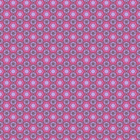 Gloria's Pinkstar fabric by siya on Spoonflower - custom fabric