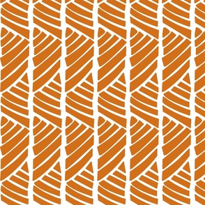 Bamboo Stripe_Orange
