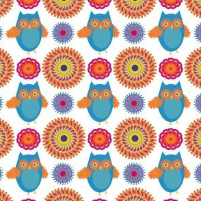 owl medallions