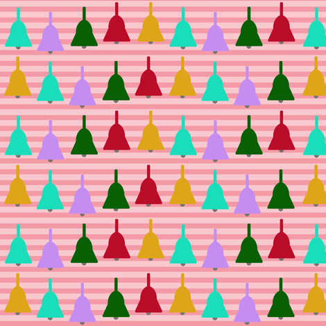Candy Bells fabric by theladyinthread on Spoonflower - custom fabric