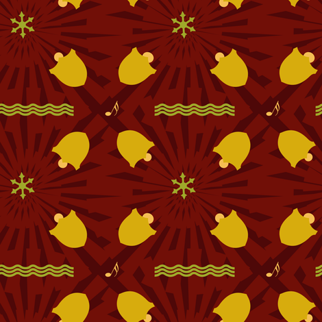 bells fabric by raasma on Spoonflower - custom fabric
