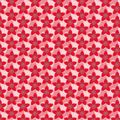 Akazakura fabric by siya on Spoonflower - custom fabric