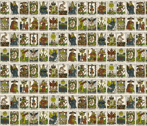 Tarot fabric by pkfridley on Spoonflower - custom fabric