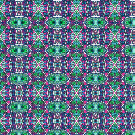 Deco Diamond Speakeasy Garden fabric by edsel2084 on Spoonflower - custom fabric