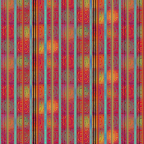 fiestival_stripe fabric by glimmericks on Spoonflower - custom fabric