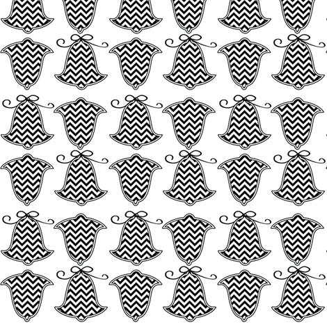 chevron bells fabric by lauraelysha on Spoonflower - custom fabric