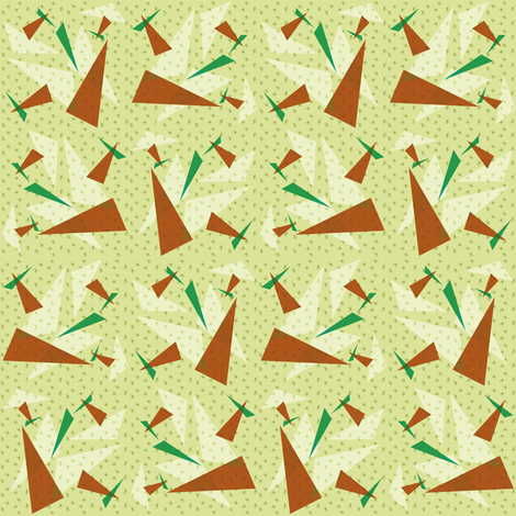 Atomic_Cafe_21 fabric by kitschkat on Spoonflower - custom fabric