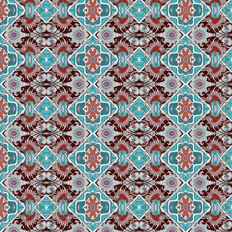 The English Way fabric by edsel2084 on Spoonflower - custom fabric