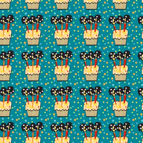 Birthday Confetti fabric by gsonge on Spoonflower - custom fabric