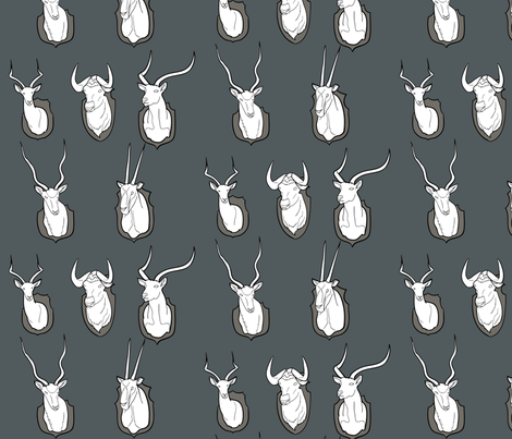 trophy collection fabric by avelis on Spoonflower - custom fabric
