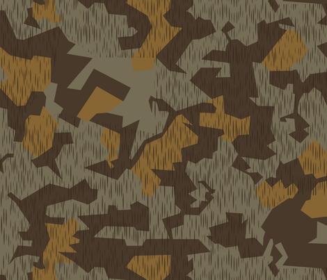Splinter B Tropical Camo fabric by ricraynor on Spoonflower - custom fabric