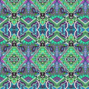 A Patchwork Tangle