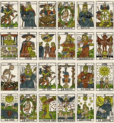 Tarot, large scale