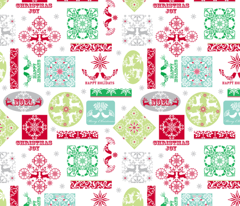 NVO-wmb_Tag_Print fabric by wendybentley on Spoonflower - custom fabric
