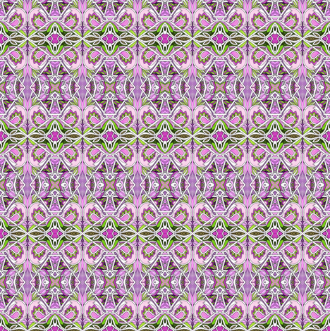 The Flight of the Girlie Girl Paisley fabric by edsel2084 on Spoonflower - custom fabric