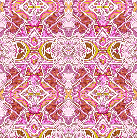 Under an Arab Sun fabric by edsel2084 on Spoonflower - custom fabric