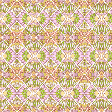 First Rays of Spring Sunrise fabric by edsel2084 on Spoonflower - custom fabric