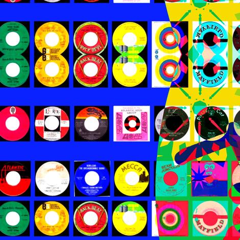 Sebs Records fabric by _vandecraats on Spoonflower - custom fabric