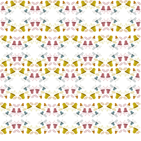 HARK how the bells 2 fabric by scifiwritir on Spoonflower - custom fabric