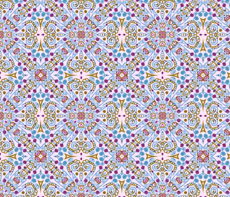 Winter Blue fabric by captiveinflorida on Spoonflower - custom fabric