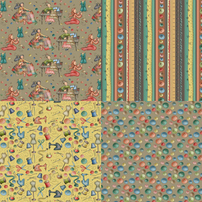 Sewing Collection - 4FQ in 1yard