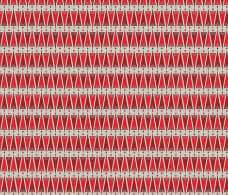 BITTY BELLS fabric by natasha_k_ on Spoonflower - custom fabric
