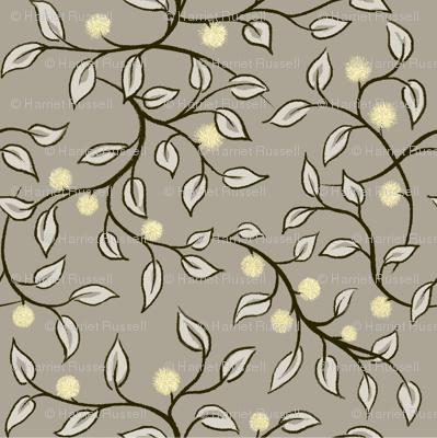leafy stems & buds light